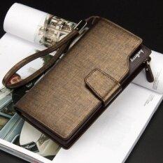 ขาย ผู้หญิงคนกระเป๋าสตางค์หนังกระเป๋าถือบัตรเครดิตและเหรียญซองใส่มือถือทอง ใหม่