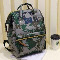 ซื้อ Bag Fashion กระเป๋าเป้สะพายหลัง กระเป๋าแฟชั่น รุ่น034 ลายพลางทหาร ถูก