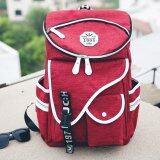 ส่วนลด Bag Fashion กระเป๋าเป้สะพายหลัง สีแดง รุ่น046 Bag Fashion ใน กรุงเทพมหานคร