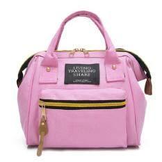 ซื้อ Bag Fashion กระเป๋าสะพายหลังแฟชั่น พร้อมถือ สไตล์เกาหลี รุ่น033 สีชมพู ใหม่ล่าสุด