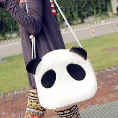 ขาย Bag Fashion กระเป๋าสะพายข้าง กระเป๋าทรงกลมรูปหมีแพนด้า รุ่น088 สีขาว ถูก กรุงเทพมหานคร