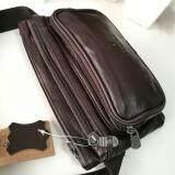 ซื้อ Bag Man กระเป๋าคาดเอว คาดอก หนังแท้ รุ่น Okb008 1 สีน้ำตาล Bag Man
