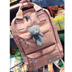 ซื้อ Bamboo กระเป๋าเป้สะพายหลัง รุ่น Mini Bear สีชมพู Bamboo ถูก