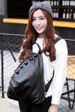 โปรโมชั่น ฺBanana Shop กระเป๋าเป้สะพายหลัง กระเป๋าเป้เกาหลี กระเป๋าสะพายหลังผู้หญิง Backpack Women รุ่น Lp 068 สีดำ B Nana Bag ใหม่ล่าสุด