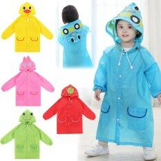 Bang Waterproof Kids Rain Coat For Children Raincoatrainwear Rainsuit Kids Boy G*rl Animal Style Raincoat ถูก
