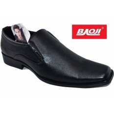 ขาย Baoji รองเท้าคัทชูชาย Baoji รุ่น Bj3424 สีดำ Baoji เป็นต้นฉบับ