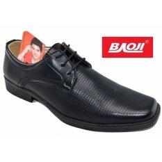ส่วนลด Baoji รองเท้าคัทชูชาย Baoji รุ่น Bj3442 สีดำ Baoji ใน กรุงเทพมหานคร