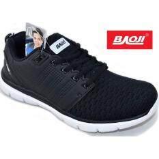 ซื้อ Baoji รองเท้าผ้าใบผู้ชายBaoji รุ่น Bjm167 Black White Baoji เป็นต้นฉบับ