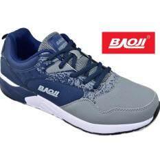 Baoji รองเท้าผ้าใบผู้ชายBaoji รุ่น Bjm200 Navy Grey ใน กรุงเทพมหานคร