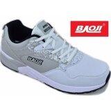 ซื้อ Baoji รองเท้าผ้าใบผู้ชายBaoji รุ่น Bjm200 White Grey Baoji ออนไลน์