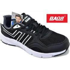 ส่วนลด Baoji รองเท้าผ้าใบผู้หญิง Baoji รุ่นBjw312 Black White Baoji
