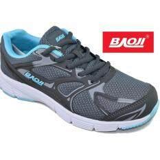 ราคา Baoji รองเท้าผ้าใบผู้หญิง Baoji รุ่น Bjw325 Grey Lt Blue