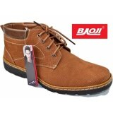 ขาย Baoji รองเท้าผ้าใบผู้ชายหุ้มข้อ Baoji รุ่น Bk3008 สีเหลือง ถูก