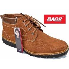 ราคา ราคาถูกที่สุด Baoji รองเท้าผ้าใบผู้ชายหุ้มข้อ Baoji รุ่น Bk3008 สีเหลือง