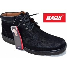 ขาย Baoji รองเท้าผ้าใบผู้ชายหุ้มข้อ Baoji รุ่น Bk3008 สีดำ ใหม่