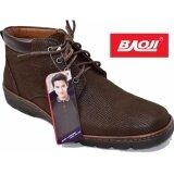 ซื้อ Baoji รองเท้าผ้าใบผู้ชายหุ้มข้อ Baoji รุ่น Bk3008 สีน้ำตาล Baoji