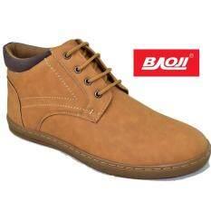 ซื้อ Baoji รองเท้าผ้าใบผู้ชายหุ้มข้อ Baoji รุ่น Bk3026 Yellow ออนไลน์ ถูก