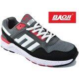 ซื้อ Baoji รองเท้าผ้าใบผู้ชาย Baoji รุ่น Jamesji001 Grey Red ถูก ใน กรุงเทพมหานคร