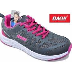 ขาย Baoji รองเท้าผ้าใบผู้หญิง Baoji รุ่นBjw299 Grey Rose Baoji ถูก