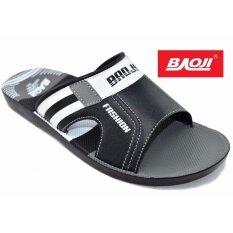 ขาย ซื้อ Baoji รองเท้าแตะผู้ชายBaoji รุ่น Pm912 Black กรุงเทพมหานคร