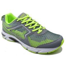 Baoji รองเท้าผ้าใบผู้ชาย Baoji รุ่น Bjm136 Grey Green เป็นต้นฉบับ