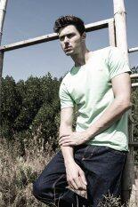 ขาย Barbari เสื้อยืด Premium Cotton คอกลม สีเขียวอ่อน ถูก ไทย
