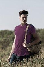 ราคา Barbari เสื้อยืด Premium Cotton คอกลม สีม่วง Barbari ใหม่