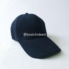 ทบทวน ที่สุด Basic Indeed หมวกแก๊ปสีพื้นทรงสวย กรมท่า