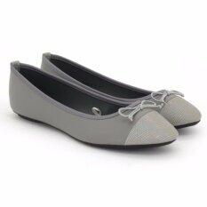 ราคา Special Bata รองเท้าแฟชั่นบัลเล่ต์ ผู้หญิง ส้นเตี้ย Ladies Casual Ballet Flat สีเทา รหัส 5512819