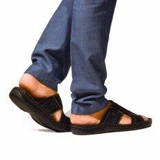 Oneprice Bata รองเท้าแฟชั่นผู้ชายแตะลำลองแบบสวม Men S Summer Neo Traditional สีดำ รหัส 8616131 Bata ถูก ใน กรุงเทพมหานคร