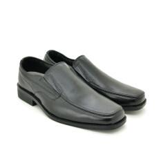 โปรโมชั่น Formal Special Bata รองเท้าหนังผู้ชายคัชชู Men S Dress Leather สีดำ รหัส 8546740 Bata