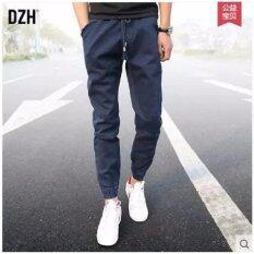 ขาย Bb กางเกงขายาว ขาจ่ำมีซิบ เอวยางยืด สีน้ำเงิน รุ่น 117 ถูก ใน กรุงเทพมหานคร