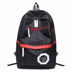 ราคา Bb Bag กระเป๋าเป้ กระเป๋าสะพาย กระเป๋าสะพายหลัง กระเป๋าแฟชั่น รุ่น123 สีดำ
