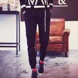 ขาย Bb กางเกงขายาว ขาจ้ำยางยืด เอวผูกเชือก กระเป๋า2 ข้าง สีดำ รุ่น 115 ราคาถูกที่สุด