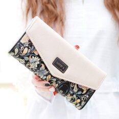 ทบทวน Beauty Bag กระเป๋าสตางค์ใบยาว กระเป๋าเงินผู้หญิง กระเป๋าสตางค์น่ารัก รุ่น Lw 016 สีดำ สีขาว