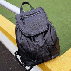 ซื้อ Beauty Bags กระเป๋าเป้สะพายหลัง กระเป๋าเป้เกาหลี Backpack Women กระเป๋าสะพายหลังผู้หญิง รุ่น Cp 081 สีดำ ออนไลน์ ถูก