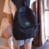 ขาย Bentoy กระเป๋าเป้ผ้าร่ม กระเป๋ากันน้ำ สไตล์ulzzang Black ถูก