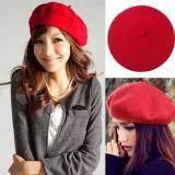 ขาย หมวกเบเร่ต์ หมวกศิลปิน เลดี้แฟชั่นผ้าขนสัตว์ฝรั่งเศสหมวก Berets Beats หมวกหมวก Slouch ฝรั่งเศส Unbranded Generic ผู้ค้าส่ง