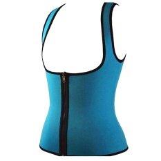 Bestprice-ผู้หญิงซิป Slimming Corset เสื้อกั๊กเทียมเหงื่อเหงื่อร่างกายเครื่องไส-นานาชาติ.