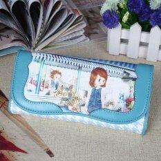 ขาย เบ็ตตี้กระเป๋าสตางค์หญิงแท้กระเป๋าสตางค์การ์ตูนสองเท่า Thailand