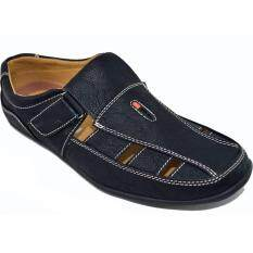 Binsin รองเท้าหนังแบบสวมผู้ชาย Binsin รุ่น M5376 Black ใหม่ล่าสุด