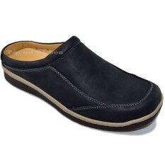 Binsin รองเท้าหนังแบบสวมผู้ชาย Binsin รุ่น M5464 By Tarad Shoes.