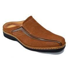 ซื้อ Binsin รองเท้าหนังแบบสวมผู้ชาย Binsin รุ่น M5111 Coffee ถูก ใน กรุงเทพมหานคร