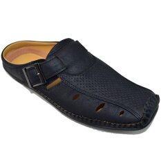 ราคา Binsin รองเท้าหนังแบบสวมผู้ชาย Binsin รุ่น M5121 Black ที่สุด