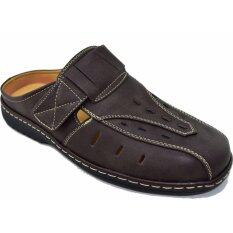 ราคา Binsin รองเท้าหนังแบบสวมผู้ชาย Binsin รุ่น M5346 Brown ใหม่