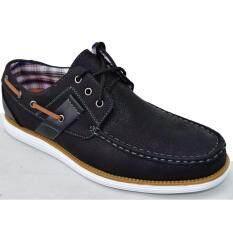 ส่วนลด Binsin รองเท้าหนังแบบสวมผู้ชาย Binsin รุ่น M5353 Black