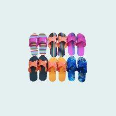 โปรโมชั่น Bk Shopbk Shop รองเท้าแตะแบบสวมลายคละสี 6 คู่
