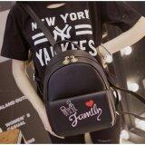 ซื้อ กระเป๋าเป้สะพายหลังแฟชั่น กระเป๋าเป้ผู้หญิง กระเป๋าเป้น่ารักๆ รุ่น Bla017 สีดำ Tb