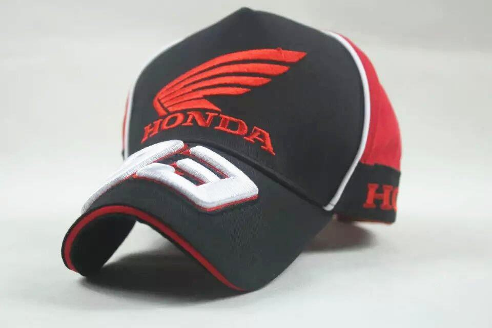 Black men women HRC Honda baseball cap golf hat moto gp motorcycle racing.