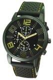ราคา Bluelans® Yellow Number Rubber Black Silicone Band Watch ที่สุด
